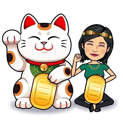 thuy dam spiritual ninja lucky cat chinese new years