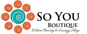 So You Boutique| spray tan Denver, teeth whitening, face reading, & energy healing Logo